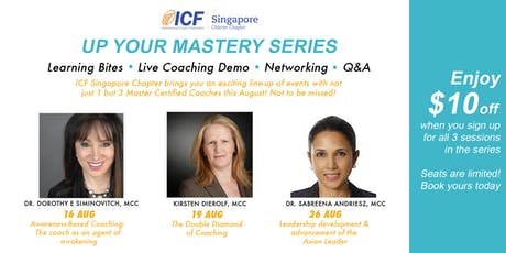 """Up Your Mastery"" Series tickets"