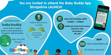 Baby Buddy Celebration Event - Shrewsbury