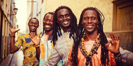 Hermanos Thioune - Concierto de música africana entradas
