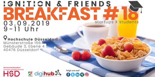 Ignition & friends breakfast #18 - startups x students