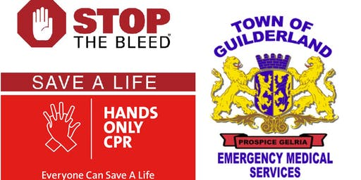 Guilderland EMS Presents: Stop The Bleed and Hands Only CPR