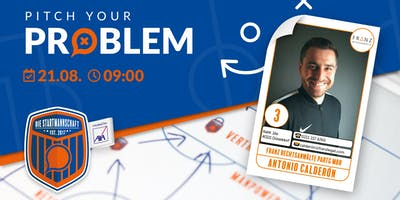 Pitch your Problem zum Thema [ RECHT ] mit Antonio