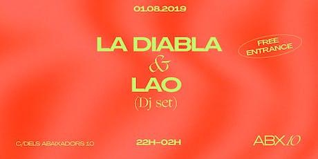La Diabla + LAO Dj Set entradas