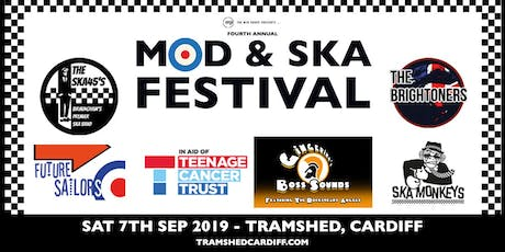 4th Annual Mod & Ska Festival Featuring Ska 45s, The Brightoners + more! tickets