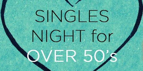 Singles Night for Over 50's tickets