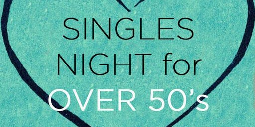 Singles Night for Over 50's