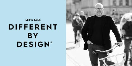 Different by Design introduces Klaus Bondam tickets