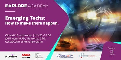 Inno Academy - Emerging techs: how to make them happen