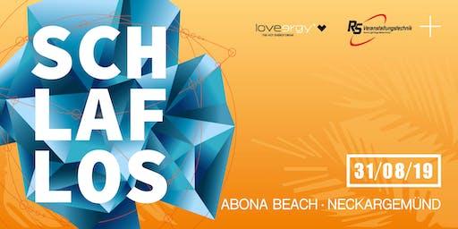 Schlaflos meets Abona Beach
