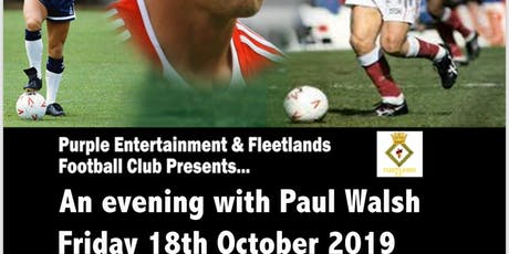 Pompey Legends Night - Paul Walsh tickets