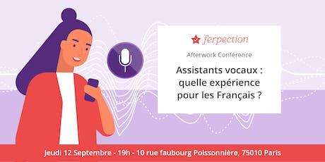 Assistants vocaux : quelle expérience pour les Français ? billets