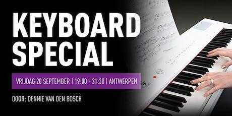 Keyboard Special bij Bax Music Antwerpen tickets