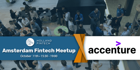 Holland FinTech Amsterdam MeetUp: October tickets