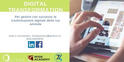 Gestire la trasformazione digitale della tua azienda: PERCORSO GRATUITO!