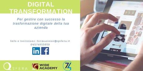 Gestire la trasformazione digitale della tua azienda: PERCORSO GRATUITO! biglietti