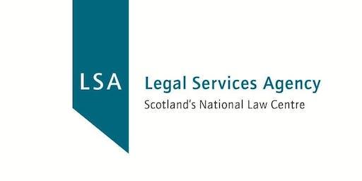 Essential Legal Aid Training - Edinburgh