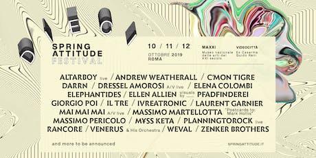 Spring Attitude Festival 2019 biglietti