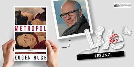 LESUNG: Eugen Ruge Tickets