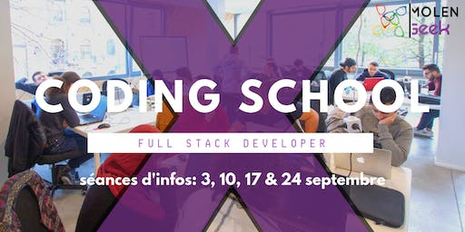 [Séance d'information] : MolenGeek Coding School - Dev web & mobile
