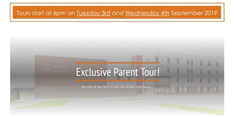 PARENT'S TOUR OF HARI NEW BUILDING tickets