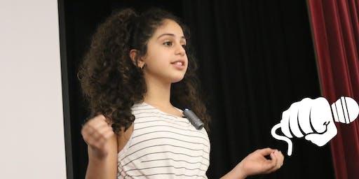 Resilience through Public Speaking - Grades 5-7