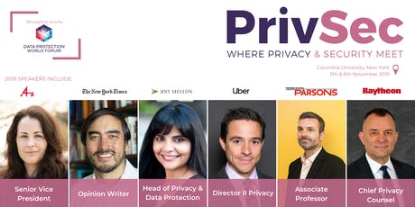 PrivSec New York tickets
