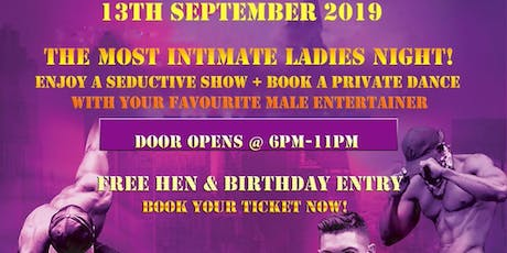 Dark Secrets Live: Male Revue Show tickets