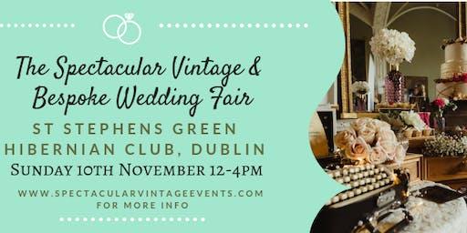 The Spectacular Vintage Wedding Fair Dublin