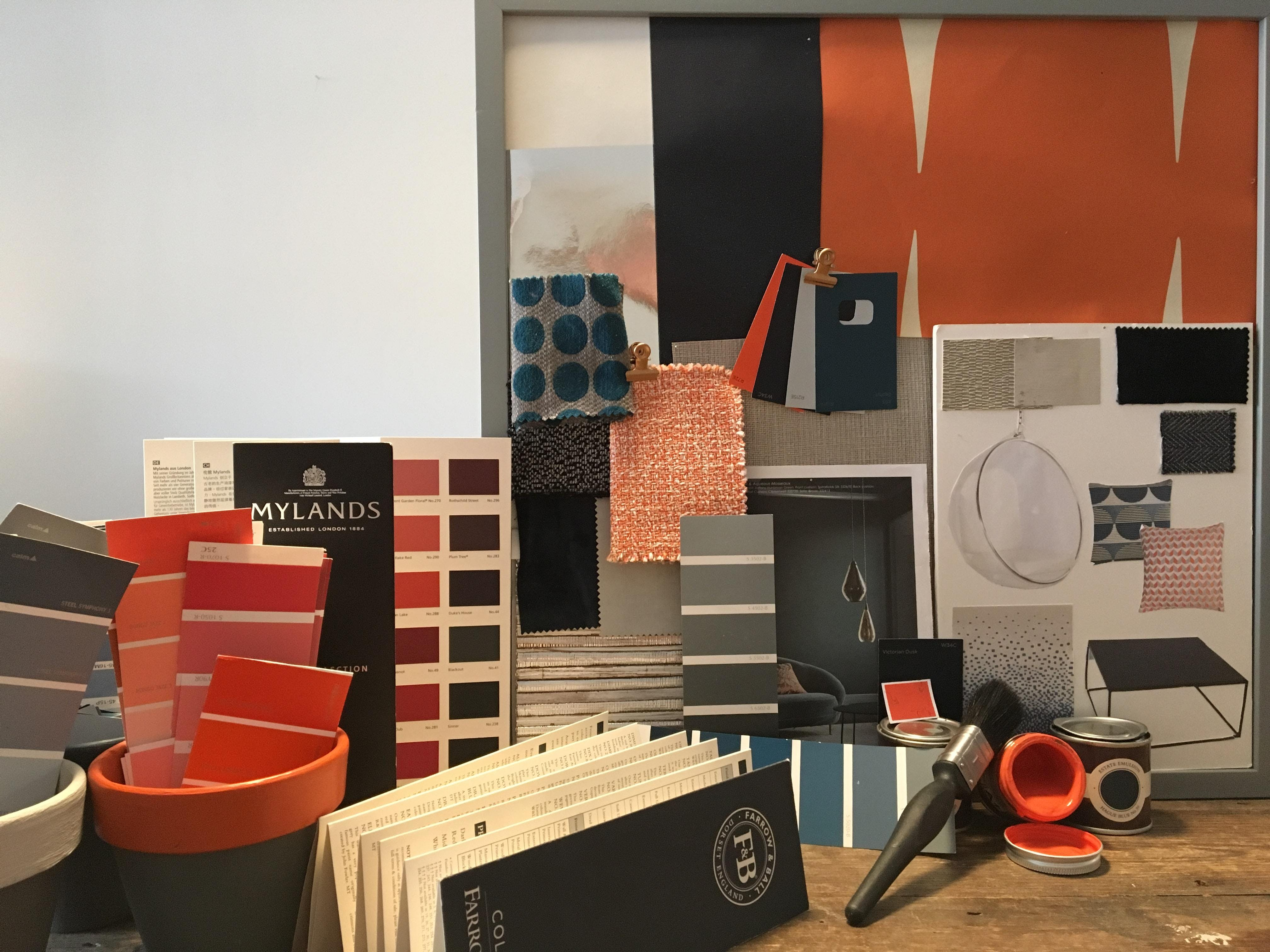 Create your Colour Moodboard Workshop