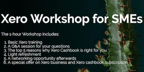 Free Xero workshop for SMEs - Ponsonby tickets