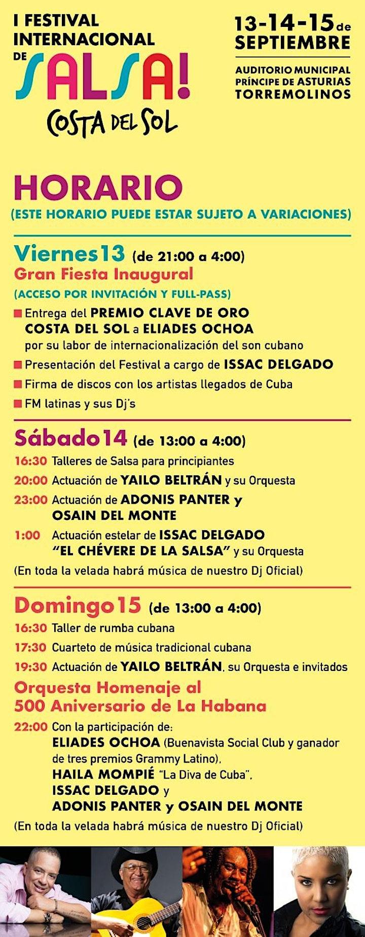 Imagen de Festival Internacional de Salsa Costa del Sol / Torremolinos