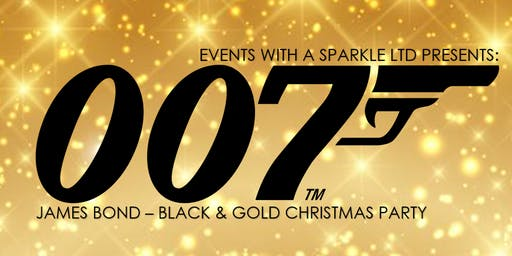 James Bond - Black and Gold Christmas Ball