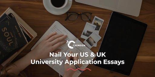 Nail Your US & UK University Application Essays | SG