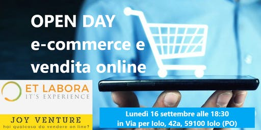 OPEN DAY : E-COMMERCE E VENDITA ONLINE 16 Settembre 2019