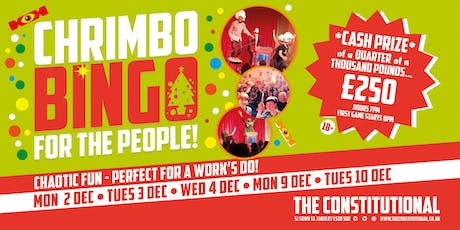Chrimbo Bingo For The People! tickets
