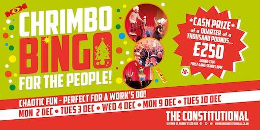 Chrimbo Bingo For The People!