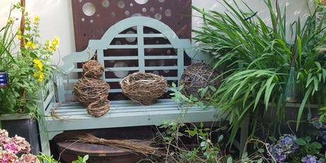Make Your Own Natural Garden Sculpture with local artist, Julie Dart tickets