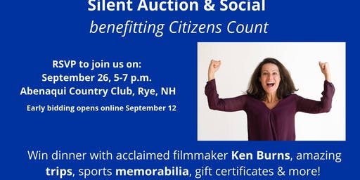 Silent Auction & Social for Citizens Count