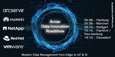 Arrow Data Innovation Roadshow in Hamburg