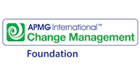 Change Management Foundation 3 Days Virtual Live Training in Melbourne tickets