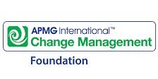 Change Management Foundation 3 Days Virtual Live Training in Melbourne