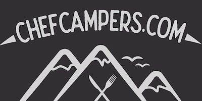 Dining Around a Woodland Campfire - Ciniawa yn y coed wrth dân gwersyll