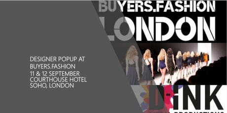 PRE LONDON FASHION WEEK DESIGNER POPUP AT BUYERS.FASHION tickets