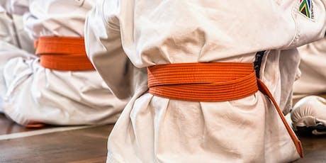 Lezione di prova gratuita corso : Karate (3anni) biglietti