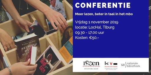 Conferentie Meer lezen, beter in taal in het mbo 2019