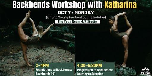 Backbends Workshops with Katharina
