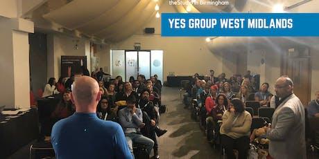 YES Group West Midlands (Birmingham): August 2019 Personal Development tickets