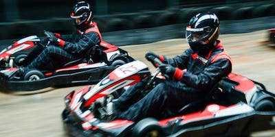 Health and Care charity go-karting