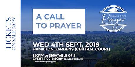 Hamilton Prayer Breakfast tickets