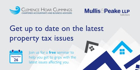 Get up to date on the latest property tax issues tickets